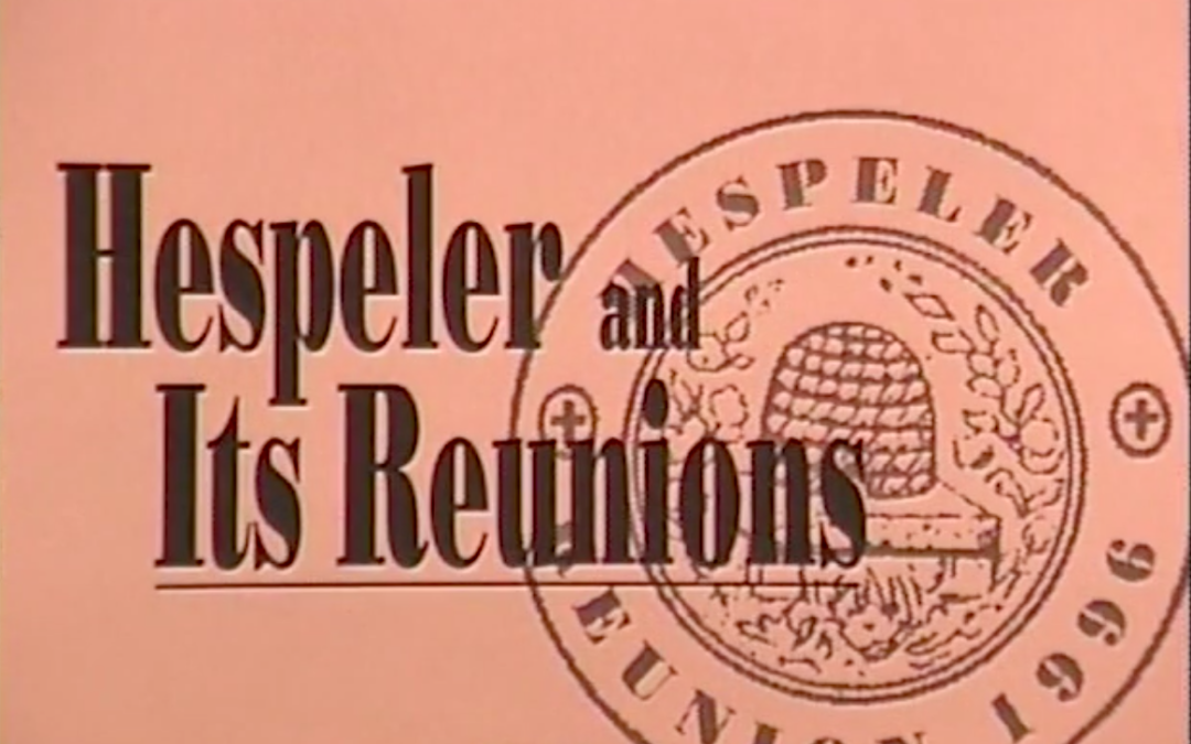 Hespeler and its Reunions – 1996