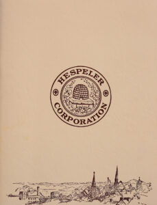 Commemorative Hespeler Reunion Book (1966)