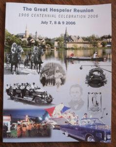 2006 Hespeler Reunion Book