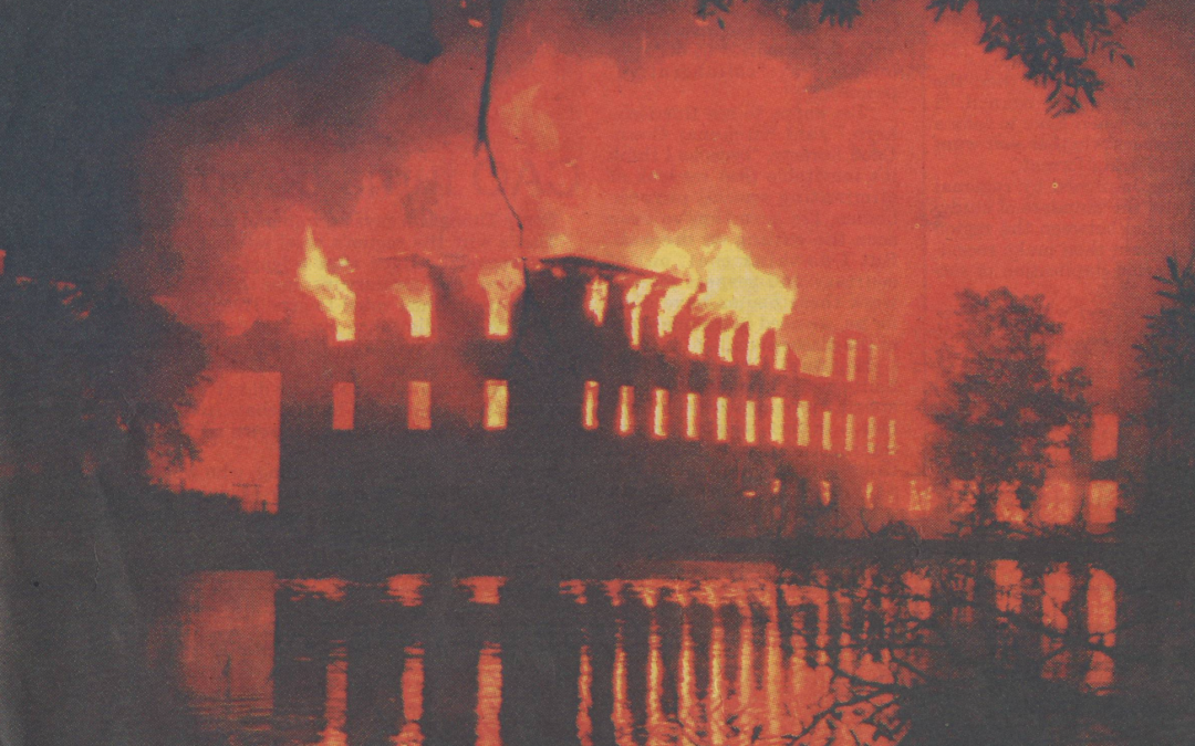 The Forbes Mill Fire – 25 years later
