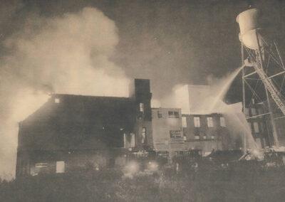 Hespeler Mill Fire 1995