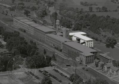 Original buildings #1 & #2, c. 1945