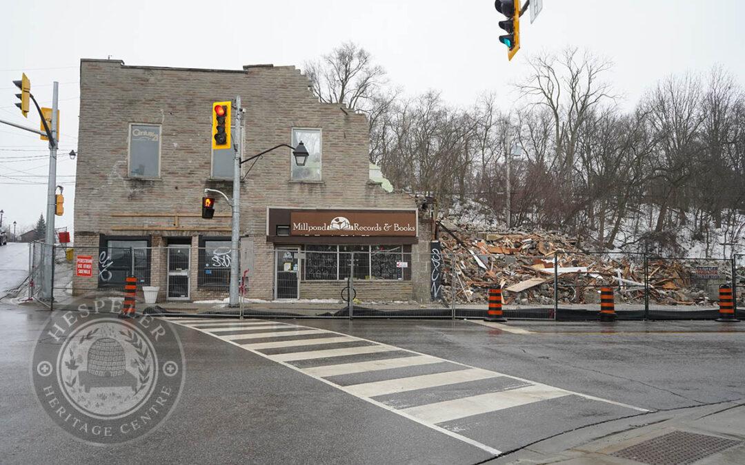The Glick's Block Demolition