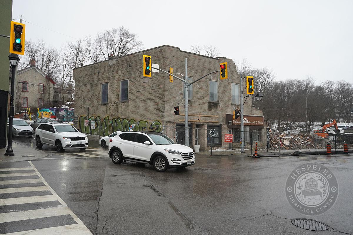 Glick's Block Demolition - Feb. 28, 2021