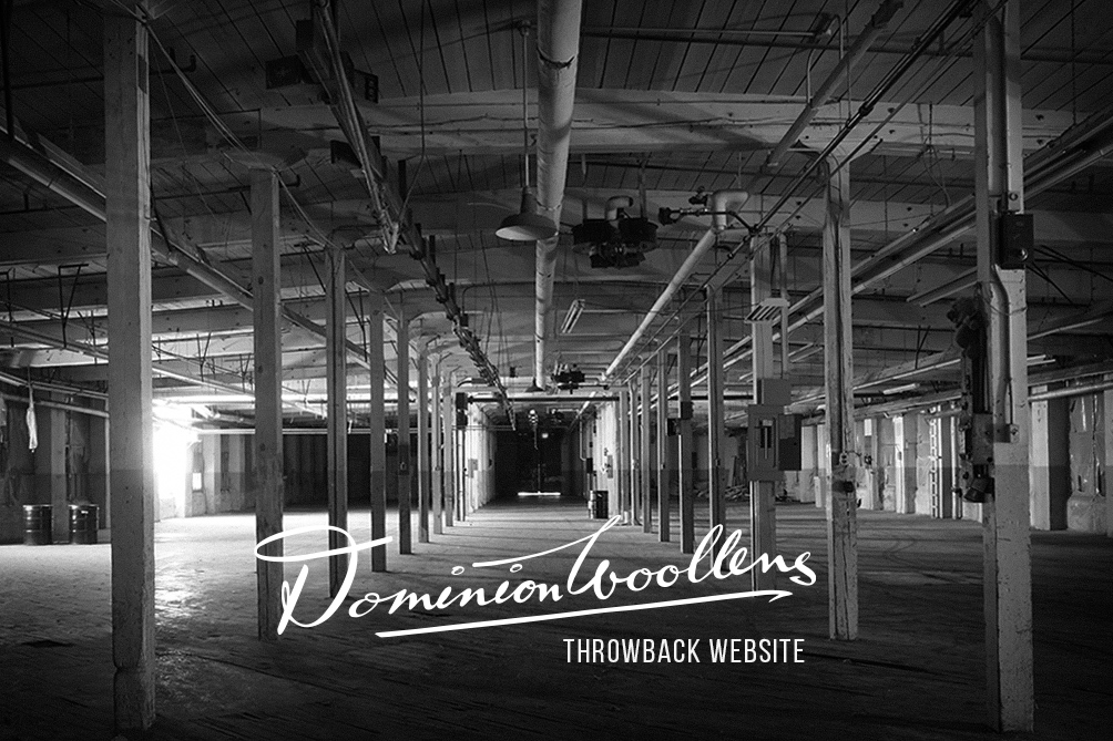 Dominion Woollens Launching Website